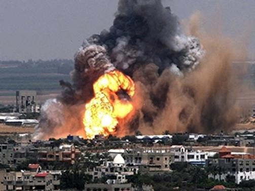 İsrail'den Gazze'ye hava saldırısı: 10 ölü