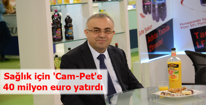 Sağlık için 'Cam-Pet'e 40 milyon euro yatırdı