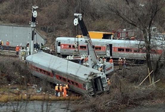 Güney Afrika'da tren kazası