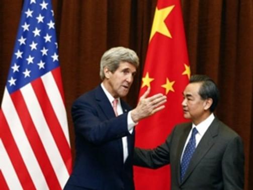 Çin Devlet Başkanı Şi, Kerry'i kabul etti