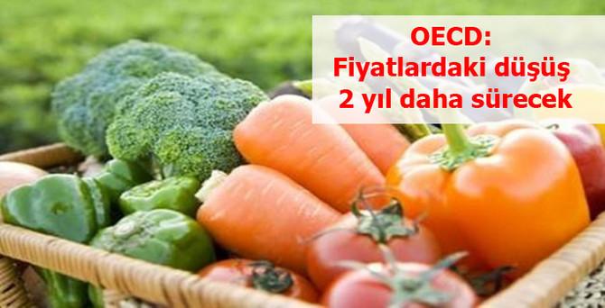 OECD: Tarım fiyatlarındaki düşüş 2 yıl daha sürecek