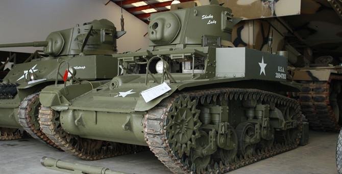 ABD'de eski tank ve askeri araçlar açık artırmada