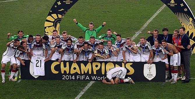 Dünya şampiyonu Almanya!