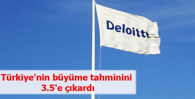 Türkiye'nin büyüme tahminini 3.5'e çıkardı