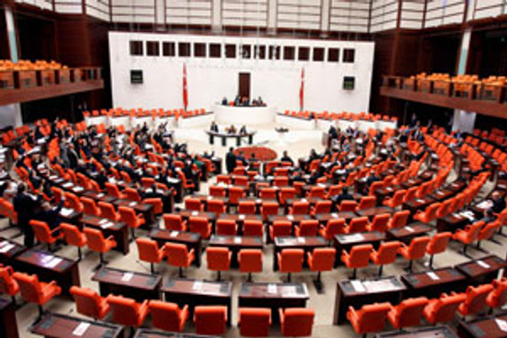 Alevi mitingi Meclis'e taşındı
