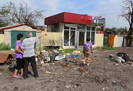 Donetsk'te halk kenti terk ediyor