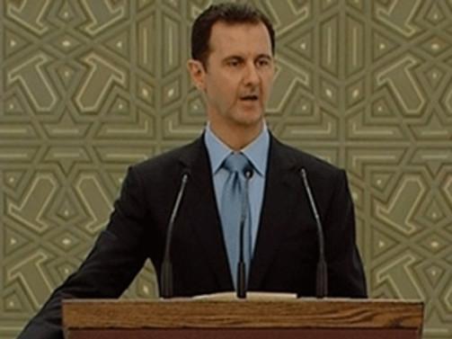 Esad yemin etti