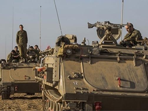 İsrail zırhlı araçları Gazze sınırına girdi
