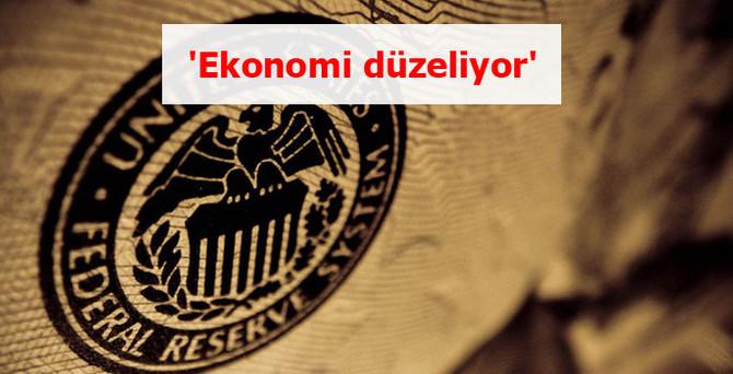 'Ekonomi düzeliyor'
