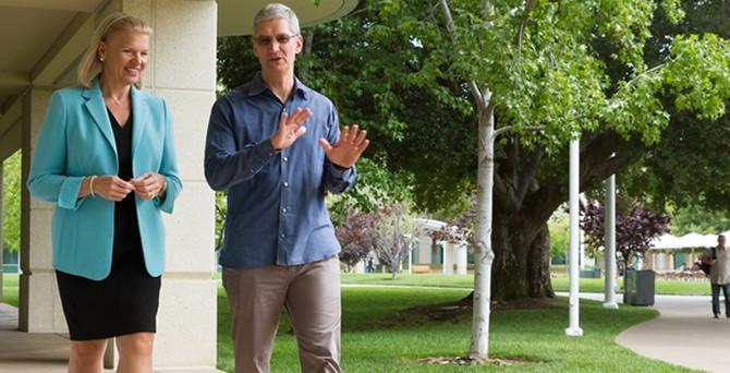 IBM ve Apple'ın rekabeti işbirliğine dönüştü