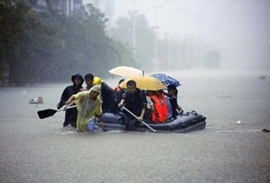 Çin'de şiddetli yağışlar nedeniyle 18 kişi öldü