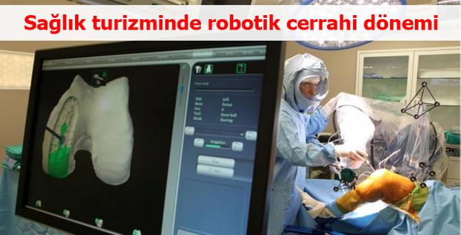Sağlık turizminde robotik cerrahi dönemi