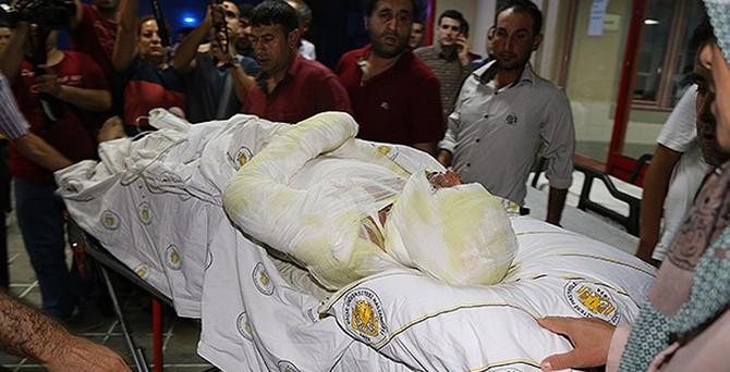 Lice'de LPG yüklü tanker patladı, 66 kişi yaralandı