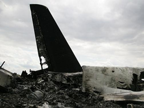 Almanya'da uçak düştü!