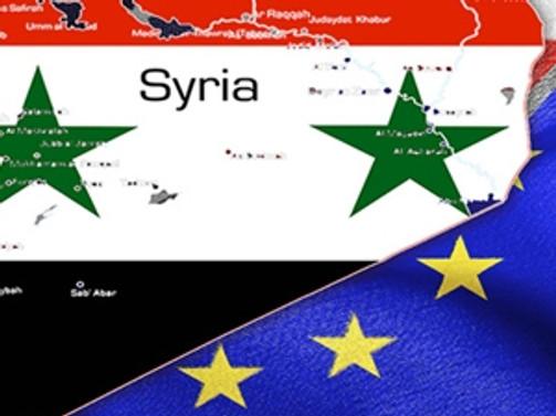 AB'den Suriye yaptırım listesine ekleme