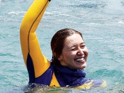 Milli yüzücüden ikinci rekor