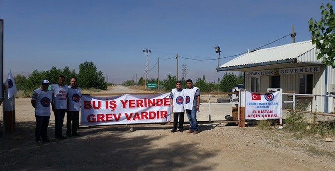 Maden işçilerinden grev kararı