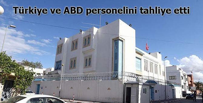 Türkiye ve ABD personelini tahliye etti