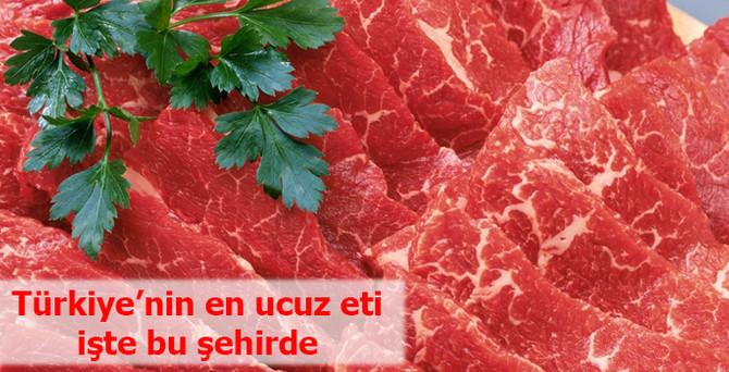 Türkiye'nin en ucuz eti Ağrı'da