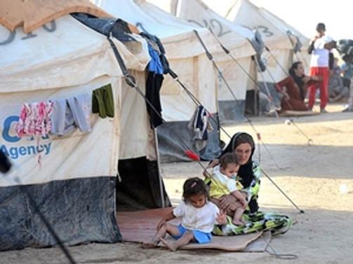 IŞİD yüzünden 113 bin aile göç etti