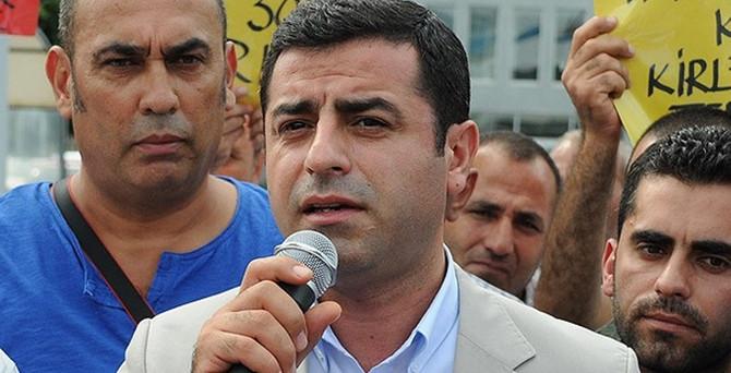 Demirtaş'tan Diyarbakır'da barış çağrısı