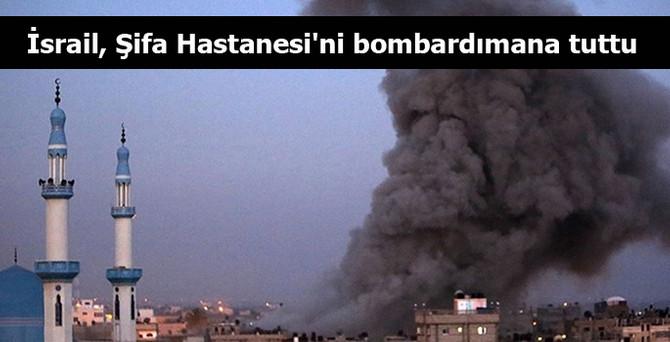 İsrail saldırısında Şifa Hastanesi de zarar gördü