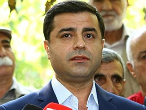 Demirtaş'tan 'Cizre' açıklaması