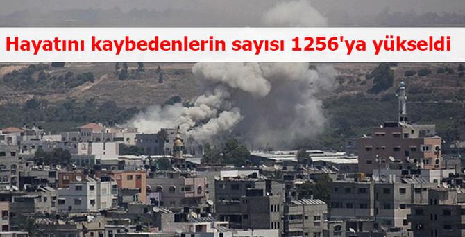 Hayatını kaybedenlerin sayısı 1256'ya yükseldi