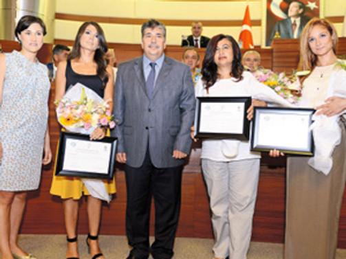 Antalyalı kadın girişimciler ödüllerini aldı