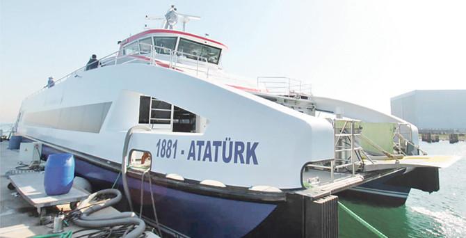 """""""1881-Atatürk"""" bugün geliyor"""