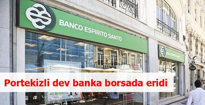 Portekiz'de Banco Espirito Santo'dan rekor zarar