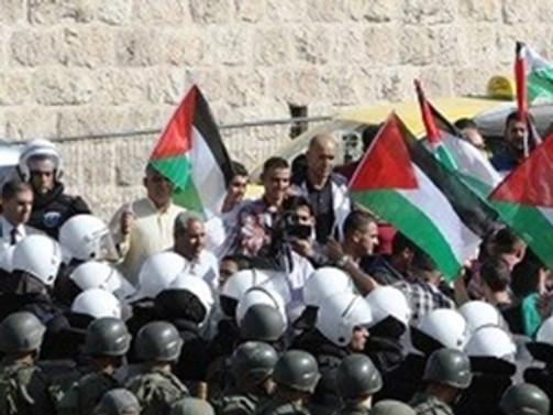 Batı Şeria'da Gazze'yle dayanışma yürüyüşüne müdahale