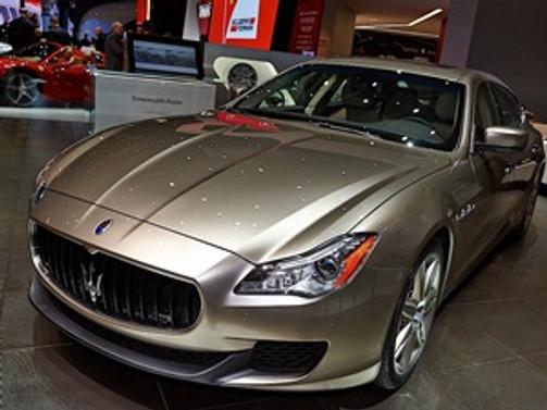Maserati, Quattroporte Zegna'nın üretimine başladı