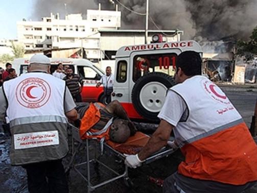 Gazze'de patlama: 4 kişi hayatını kaybetti