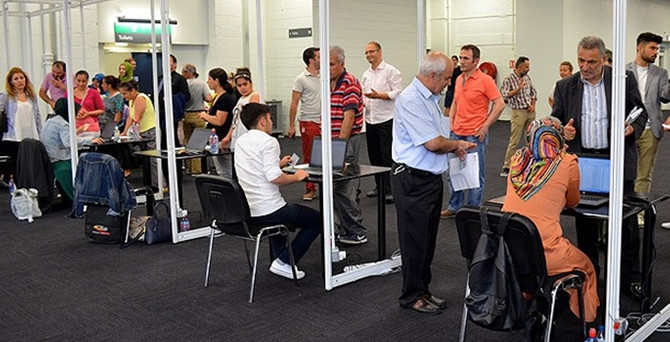 Yurtdışında oy verme işlemi tamamlandı