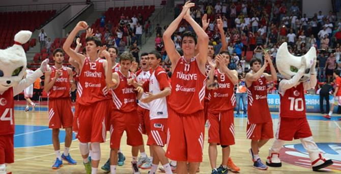 Genç Erkekler Avrupa şampiyonu!