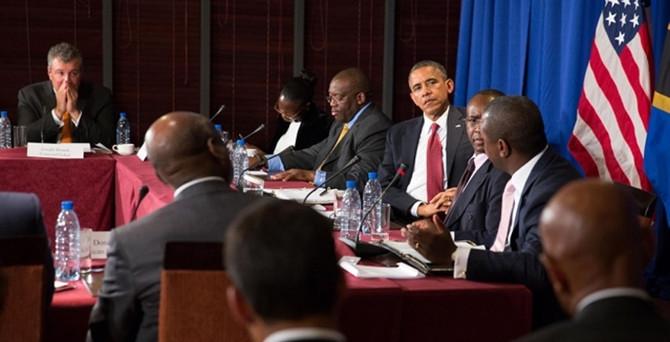 ABD-Afrika Liderler Zirvesi başladı