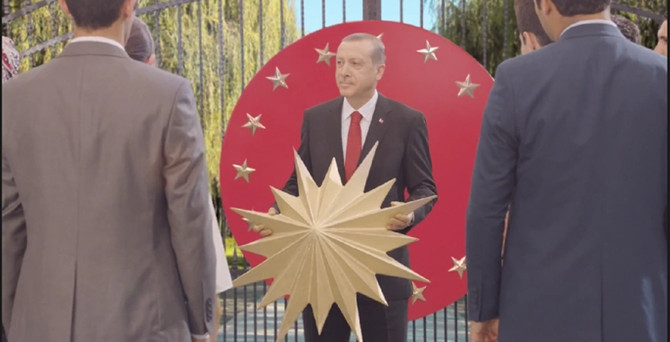 Erdoğan'ın seçim reklamına yasak