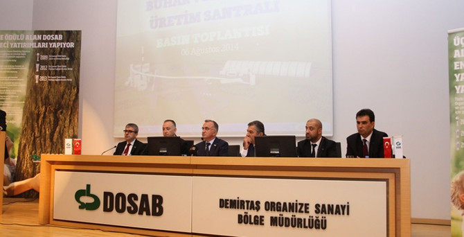 Çevreci tesis ile OSB elektriğini karşılayacak