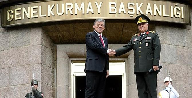 Cumhurbaşkanı Gül'den Özel'e veda ziyareti