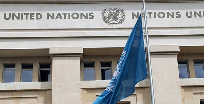 Birleşmiş Milletler, bayrağını yarıya indirdi