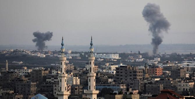 Ateşkes bitti, İsrail yine vurdu
