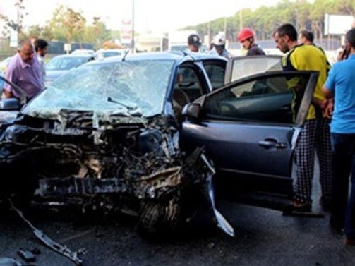 Beşiktaş'ta kaza: 9 yaralı