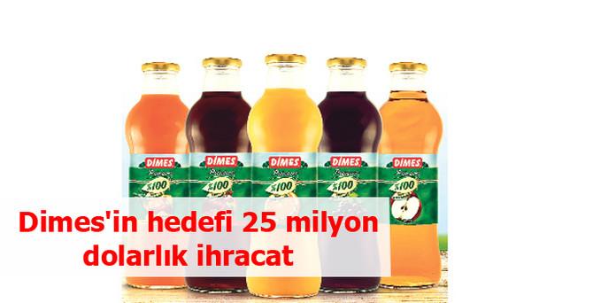 Dimes'in hedefi 25 milyon dolarlık ihracat