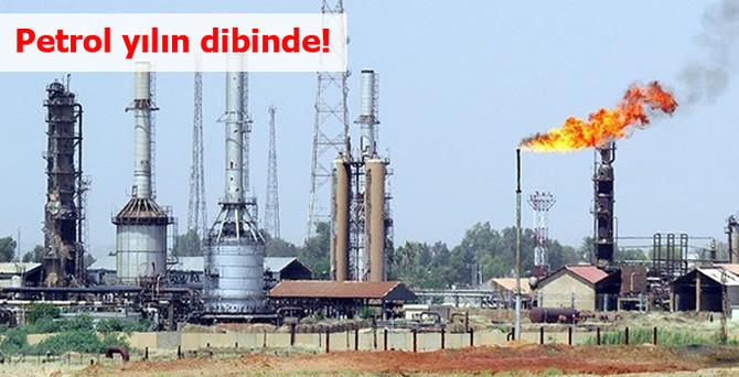 Brent petrol, yılın en düşük seviyesine geriledi