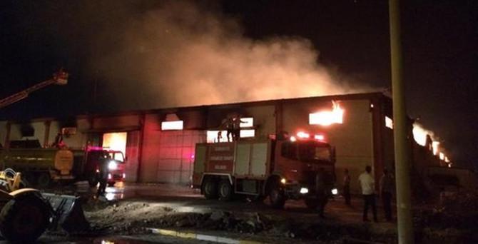 Osmaniye OSB'de yangın
