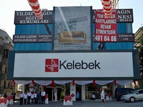 Kelebek'den Ankara'da yeni mağaza