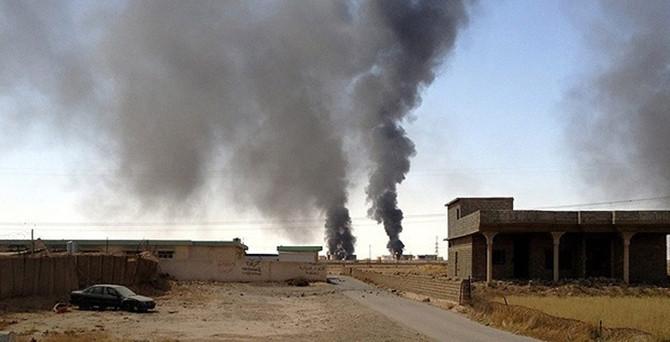 IŞİD'den 6 araçla intihar saldırısı!