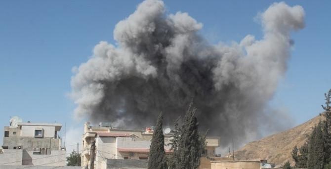 ABD, IŞİD'i vurdu: 11 ölü