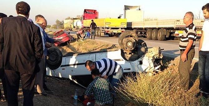 Kazan'da trafik kazası: 8 yaralı